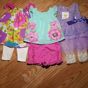 The Children's Place (3-6M) 6pc Dress Bundle
